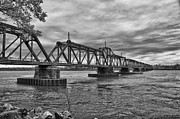 Guy Whiteley Photography Prints - International Bridge Print by Guy Whiteley