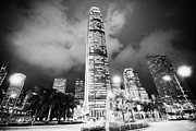 Ifc Prints - International Finance Centre Tower Building Central District Hong Kong Island Hksar China Print by Joe Fox