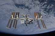 Spaceflight Art - International Space Station Set by Stocktrek Images