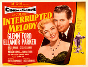 1955 Movies Photo Framed Prints - Interrupted Melody, Eleanor Parker Framed Print by Everett