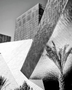 Vdara Prints - Intersection 1 Bw Print by William Dey