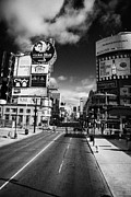 Large Scale Framed Prints - Intersection Of Yonge And Dundas At Yonge-dundas Square Toronto Ontario Canada Framed Print by Joe Fox