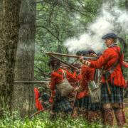 Seven Years War Prints - Into the Breech Print by Randy Steele