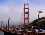 Golden Gate Photo Originals - Into The Fog by Dennis Jones