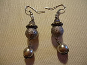 Dangle Earrings Jewelry Originals - Into the Grey Earrings by Jenna Green