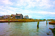 Calm Art - Into the Marina by Betsy A Cutler East Coast Barrier Islands