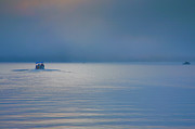 Finger Lakes Photos - Into The Mist by Steven Ainsworth