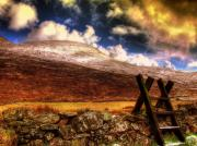Snow-covered Landscape Digital Art - Into The Wild by Kim Shatwell-Irishphotographer