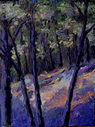Woods Pastels - Into the Woods by Scott Leckrone