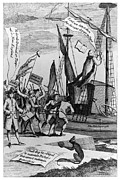 Colonial Man Photos - Intolerable Acts, 1774 by Granger
