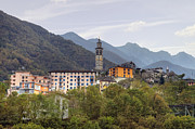 Narrow Gauge Photos - Intragna - Ticino by Joana Kruse