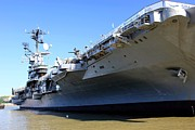 Intrepid Prints - Intrepid Sea Air and Space Museum Print by Sophie Vigneault