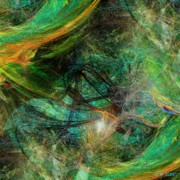 Science Fiction Digital Art Originals - Intricate Love by Michael Durst