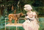 Pets Paintings - Introductions by Charles Henry Tenre