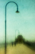 Lamp Post Framed Prints - Introspective Framed Print by Andrew Paranavitana
