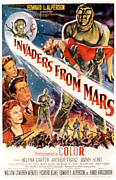 1950s Movies Photos - Invaders From Mars, Jimmy Hunt, Arthur by Everett