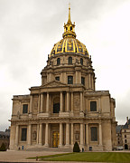 Invalides Paris France Print by Jon Berghoff