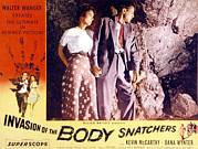 1950s Poster Art Framed Prints - Invasion Of The Body Snatchers, Dana Framed Print by Everett