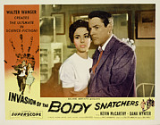Lobbycard Framed Prints - Invasion Of The Body Snatchers Framed Print by Everett