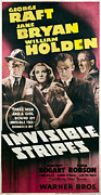1939 Movies Photos - Invisible Stripes, George Raft, Jane by Everett