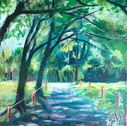 Stratford Paintings - Inviting Pathways by Tammy Watt