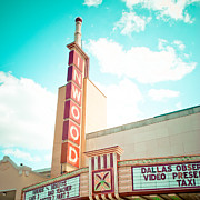 Texas Theatre Framed Prints - Inwood Theater Framed Print by David Waldo