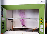 Bunsen Burner Prints - Iodine Sublimation Print by Andrew Lambert Photography