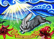 Iorek Byrnison Silvertongue Print by Genevieve Esson