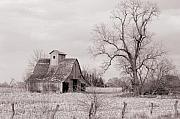 Jame Hayes Prints - Iowa Farm Print by Jame Hayes