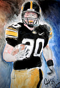 Espn Paintings - Iowa Hawkeyes  by Jon Baldwin  Art