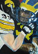 Jon Baldwin  Art - Iowa Vs Michigan