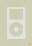 Iconic Metal Prints - iPod Metal Print by Irina  March