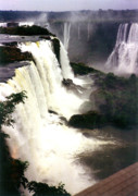 Drawing Prints Photo Originals - Iquaza Falls in SouthAmerica by Sarah Biondo