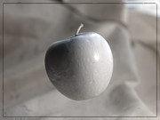 Infer Prints - IR apple Print by Michael Lee