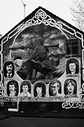 Belfast Framed Prints - Ira Wall Mural Belfast Framed Print by Joe Fox