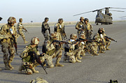Operation Iraqi Freedom Art - Iraqi Army Soldiers Rehearsing For An by Stocktrek Images
