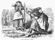 Kerchief Prints - Ireland: Field Work, 1870 Print by Granger