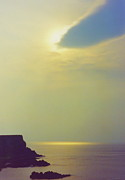 First Star Art Prints - Ireland Giants Causeway Ethereal Light Print by First Star Art
