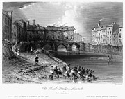 Baal Framed Prints - IRELAND: LIMERICK, c1830 Framed Print by Granger