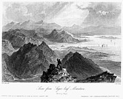 Climber Framed Prints - IRELAND: SUGARLOAF, c1840 Framed Print by Granger