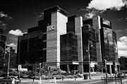 Irelands Ifsc International Financial Services Centre In Dublins Docklands Dublin City Centre Print by Joe Fox