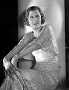 Bracelet Framed Prints - Irene Dunne, Rko, 1933 Framed Print by Everett