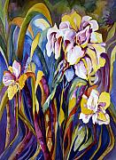 Carolyn Legrand Art - Iris by Carolyn LeGrand