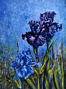 Impressionism Digital Art Originals - Iris by Harsh Malik