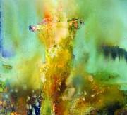 Iris Radiance Print by Petro Bevza