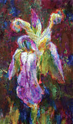 Eastern Europe Painting Prints - Iris Vrubel Print by Petro Bevza