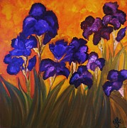 Yesi Casanova - Irises in Motion
