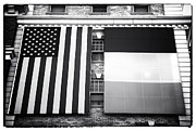 American Flag Framed Prints - Irish American Framed Print by John Rizzuto