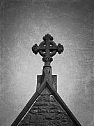 Cross Photos - Irish Church Cross by Teresa Mucha