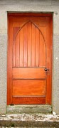 Doors Pyrography - Irish Door One by Kathleen Horner